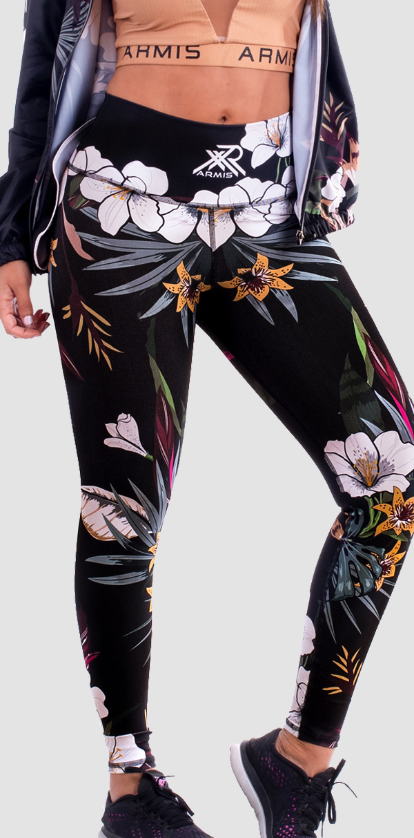 Lycra Mujer Floral
