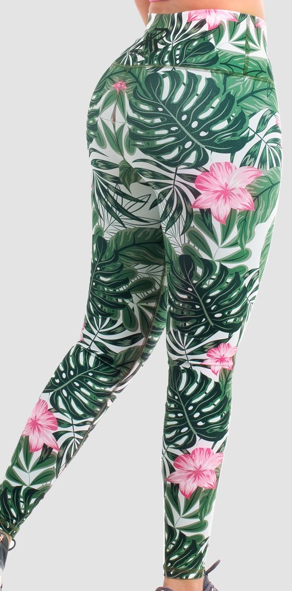 lycra-mujer-floral-verde-magenta-2
